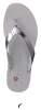 DKNY Tongs TOKEN en argent - small