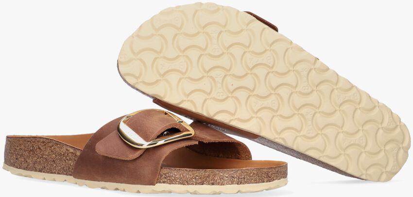 cognac BIRKENSTOCK PAPILLIO shoe MADRID BIG BUCKLE  - larger