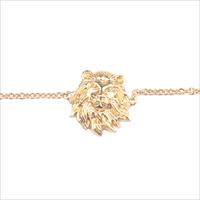 Gouden ATLITW STUDIO Armband SOUVENIR BRACELET LION - medium