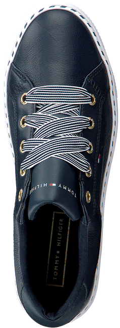 Blauwe TOMMY HILFIGER Lage sneakers NAUTICAL LACE UP  - large