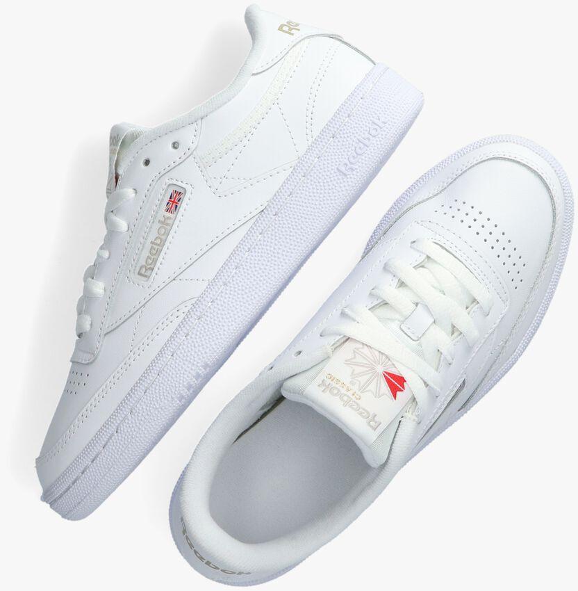 Witte REEBOK Sneakers CLUB C 85 WMN  - larger