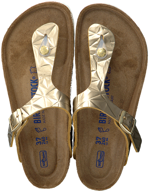 bronze BIRKENSTOCK PAPILLIO shoe GIZEH SPECTRAL  - large