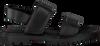 G-STAR RAW Sandales CORE STRAP FLAT DAMES en noir - small