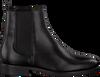 Zwarte TOMMY HILFIGER Chelsea boots PIN LOGO FLAT - small