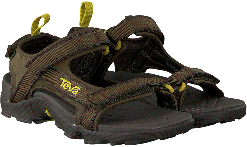 TEVA Sandales 10193489 C/Y TANZA BLKO en vert  - larger