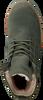BLACKSTONE Bottines à lacets OL22 en vert - small