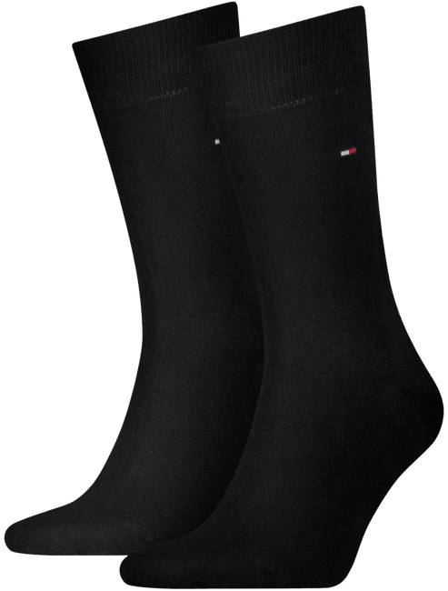 Zwarte TOMMY HILFIGER Sokken TH MEN SOCK CLASSIC - large