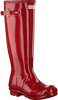 HUNTER Bottes en caoutchouc WOMENS ORIGINAL TALL en rouge - small