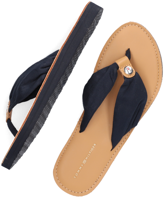 Blauwe TOMMY HILFIGER Teenslippers BEACH SANDAL  - large