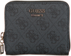 GUESS Porte-monnaie CATHLEEN SLG CHEQUE SMALL ZIP en noir  - small