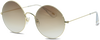 IKKI Lunettes de soleil DUFOUR en beige - small