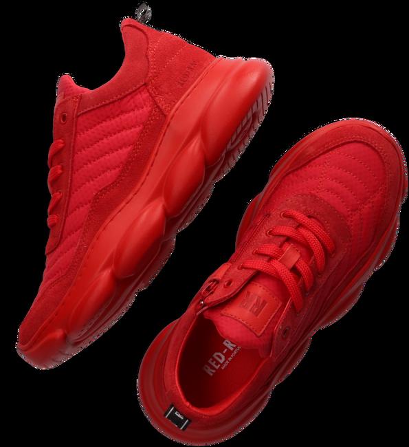 RED-RAG Baskets basses 13483 en rouge  - large