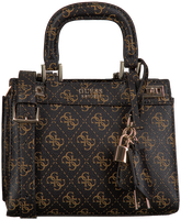 GUESS Sac bandoulière KATEY MINI SATCHEL en marron  - medium