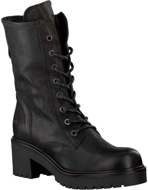 VIA VAI Bottines à lacets 4905078 en noir - large