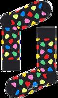Zwarte HAPPY SOCKS Sokken APPLE  - medium