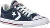 CONVERSE Baskets STAR PLAYER EV OX KIDS en bleu - small