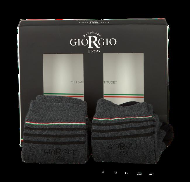 GIORGIO Chaussettes ASSORTIMENT en gris - large
