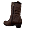 FOOTNOTES Bottes hautes 35.344 en marron - small