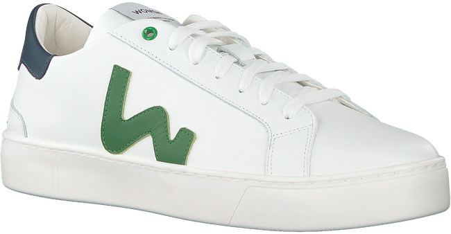 WOMSH Baskets basses SNIK en blanc  - large