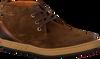 VAN LIER Chaussures à lacets 7287 en marron - small