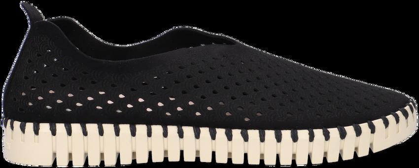 ILSE JACOBSEN Chaussures à enfiler TULIP en noir - larger