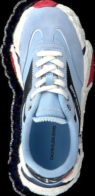 CALVIN KLEIN Baskets basses SIGMA en bleu  - large