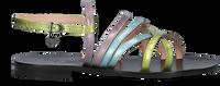 Groene FLORIS VAN BOMMEL Sandalen 85994  - medium