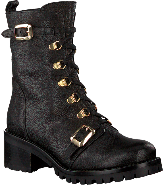 ROBERTO D'ANGELO Bottines à lacets BARBI en noir  - large
