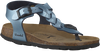 Blauwe WARMBAT Sandalen 081509  - small