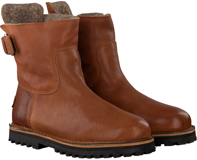 Cognac SHABBIES Enkelboots 181020129 - large