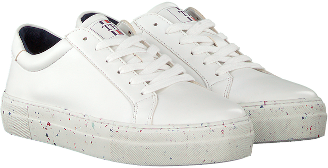 Witte TOMMY HILFIGER Lage sneakers WMNS PREMIUM SUSTAINABLE  - large
