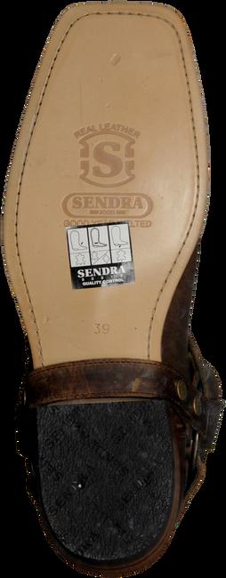 SENDRA Santiags 9077 en marron - large