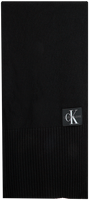CALVIN KLEIN Foulard J BASIC MEN KNITTED SCARF en noir  - medium