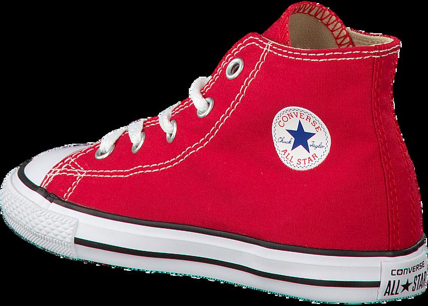 CONVERSE Baskets CTAS HI KIDS en rouge - larger