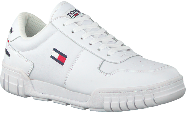 Witte TOMMY HILFIGER Lage sneakers ESSENTIAL RETRO  - large