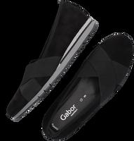 Zwarte GABOR Instappers 412.1  - medium