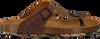 DEVELAB Sandales 48165 en cognac - small