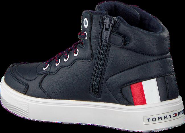 Blauwe TOMMY HILFIGER Hoge sneaker 30926  - large