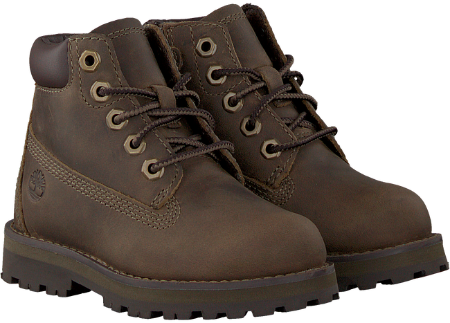 Bruine TIMBERLAND Veterboots COURMA KID TRADITIONAL 6 INCH  - large