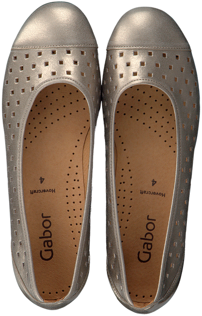 GABOR Ballerines 169 en or - large
