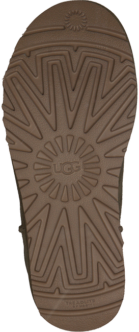 UGG Bottes fourrure CLASSIC MINI en marron - large
