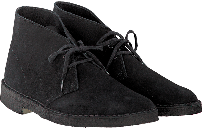 CLARKS Bottillons DESERT BOOT HEREN en noir - large