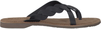 Zwarte LAZAMANI Slippers 75.283  - medium
