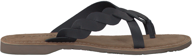 LAZAMANI Tongs 75.283 en noir - large
