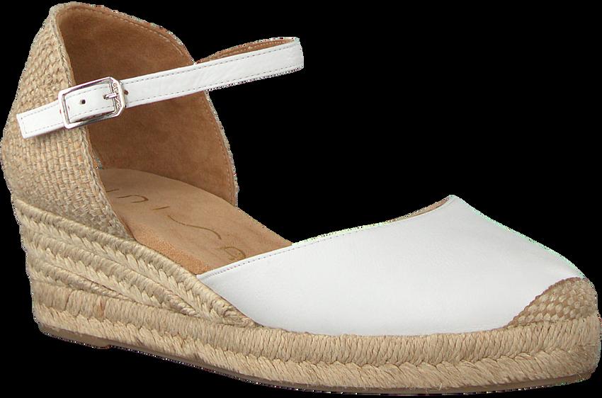Witte UNISA Espadrilles CISCA - larger