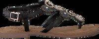 LAZAMANI Sandales 75.607 en noir  - medium