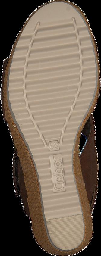 GABOR Sandales 795.1 en marron  - larger