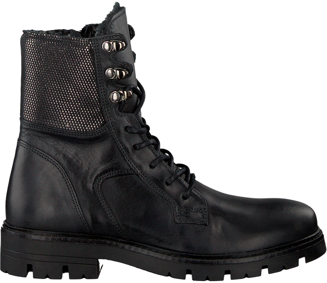 GIGA Bottines à lacets 9702 en noir - large