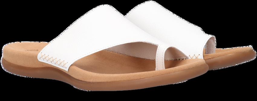 GABOR Tongs 700 en blanc  - larger