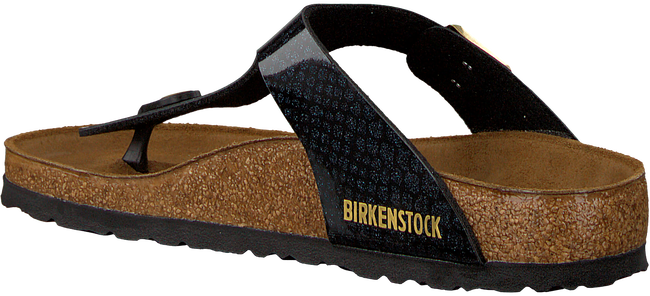 BIRKENSTOCK Tongs GIZEH MAGIC SNAKE en noir - large
